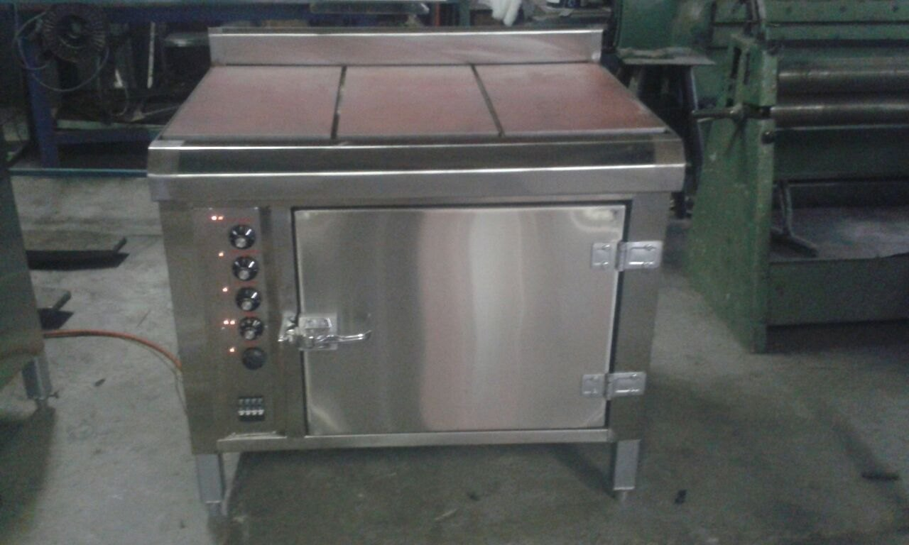 Manufacture of industrial stoves, cast iron tilting pans and oil jacketed pots.
