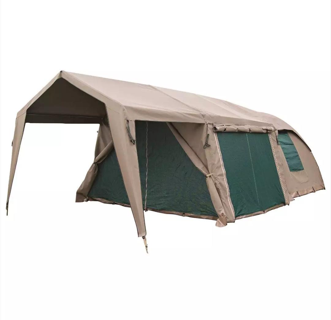 Camphmor Safari Bush combo senior 5 canvas tent