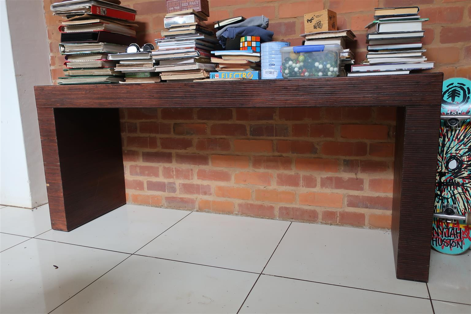 Side wall table