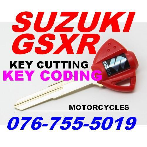 Suzuki Gsxr Spare keys