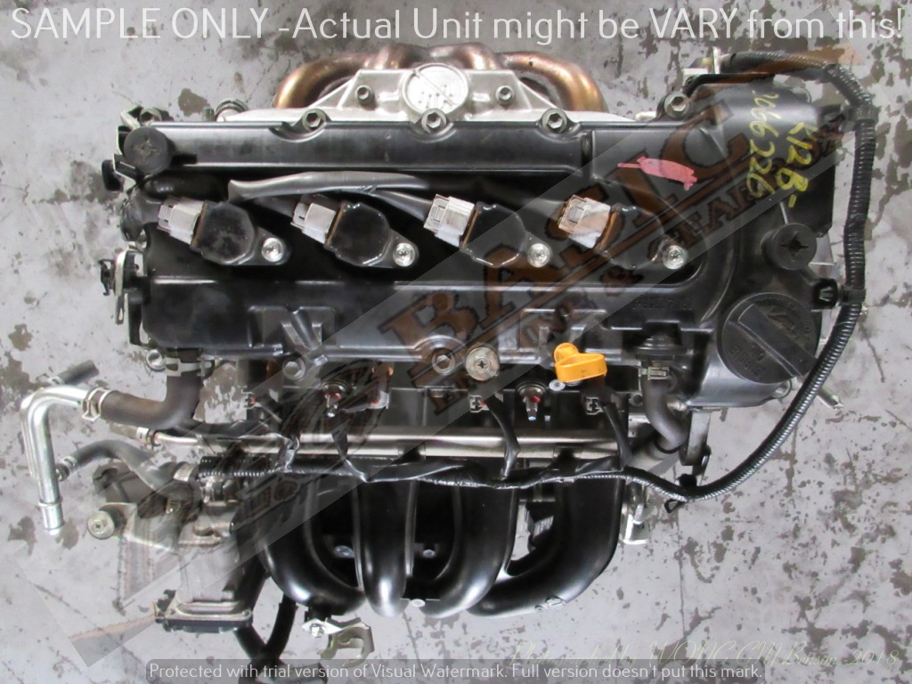 SUZUKI SWIFT -K12B 1.2L VVTI 16V Engine