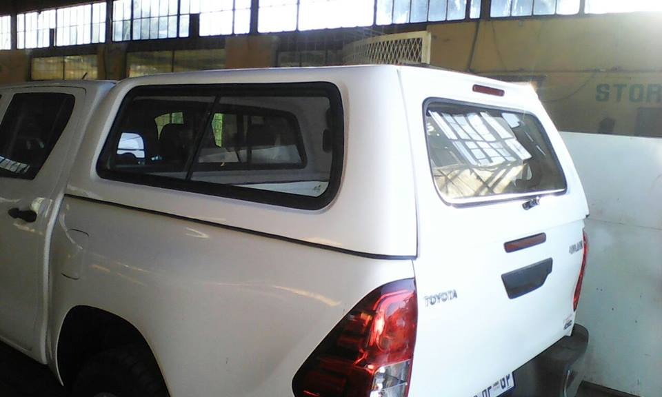 Toyota Hilux Dc  2017 Gc GD6 Canopy