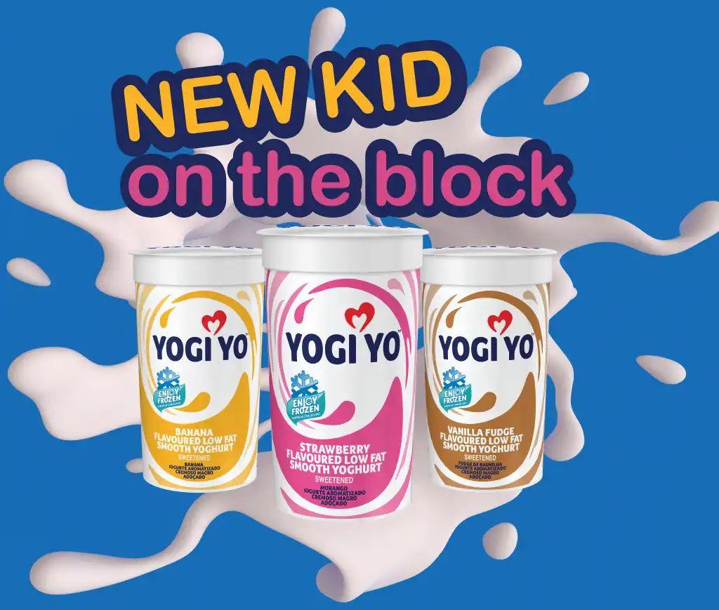 Yogi Yo Drinking Yoghurt