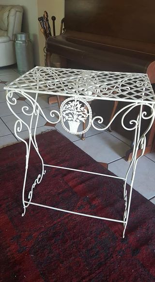 Wrought Iron Table for sale
