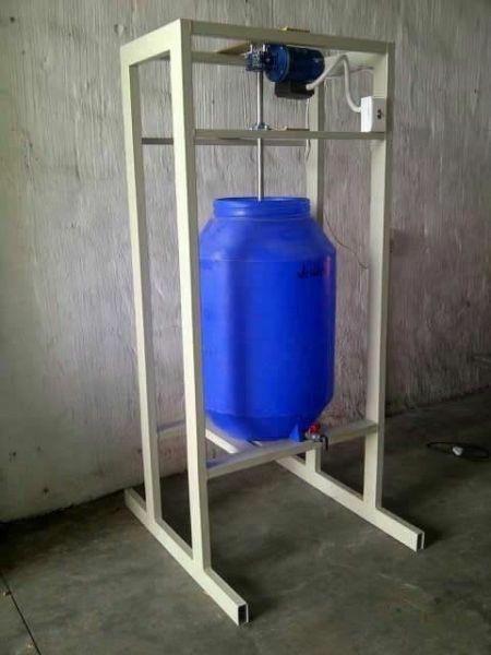 200 liter liquid mixing machine