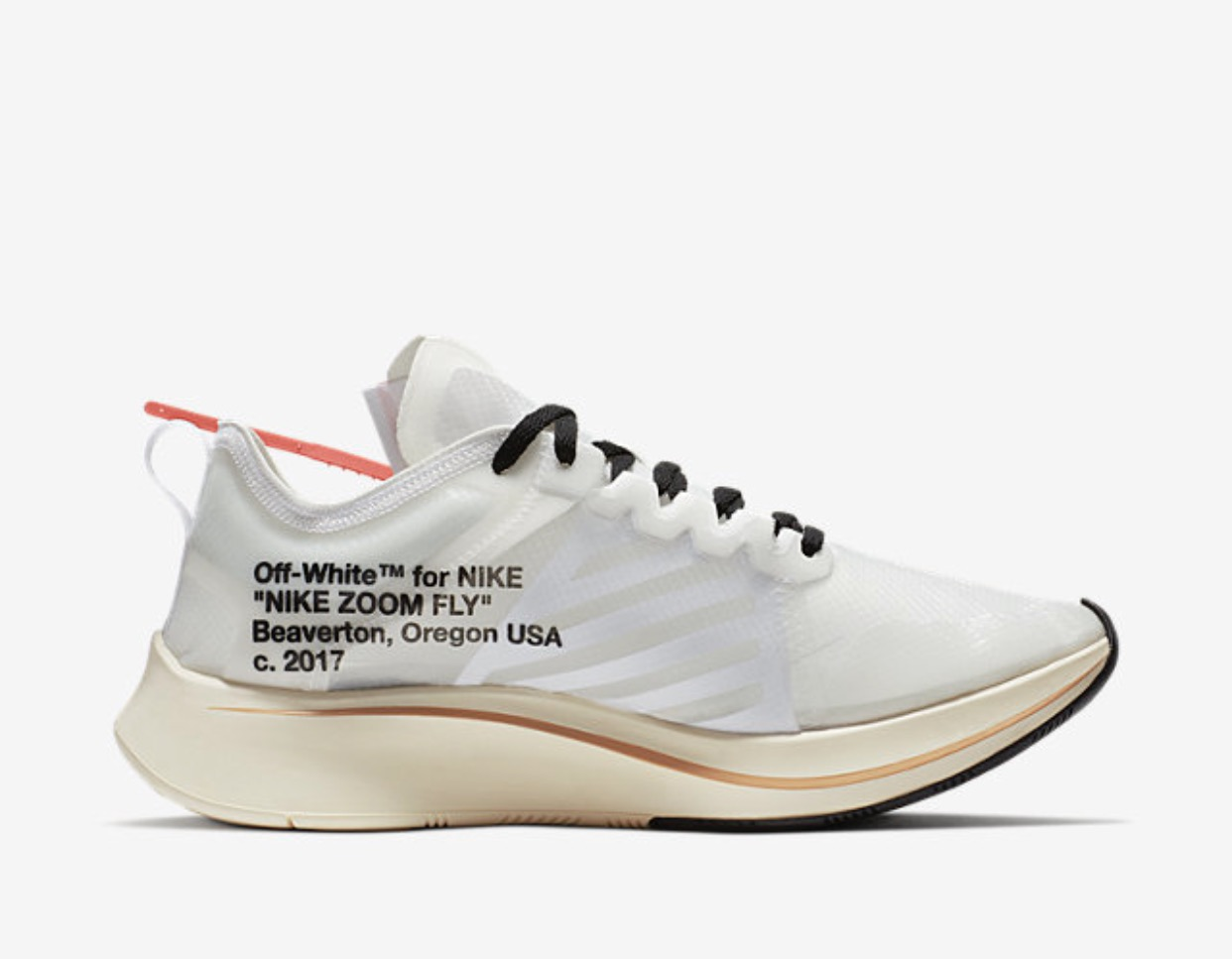 Nike x off-white limited sneakers brand new U.K. 10