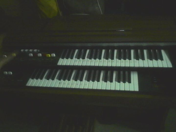 Organ and chair for beginner