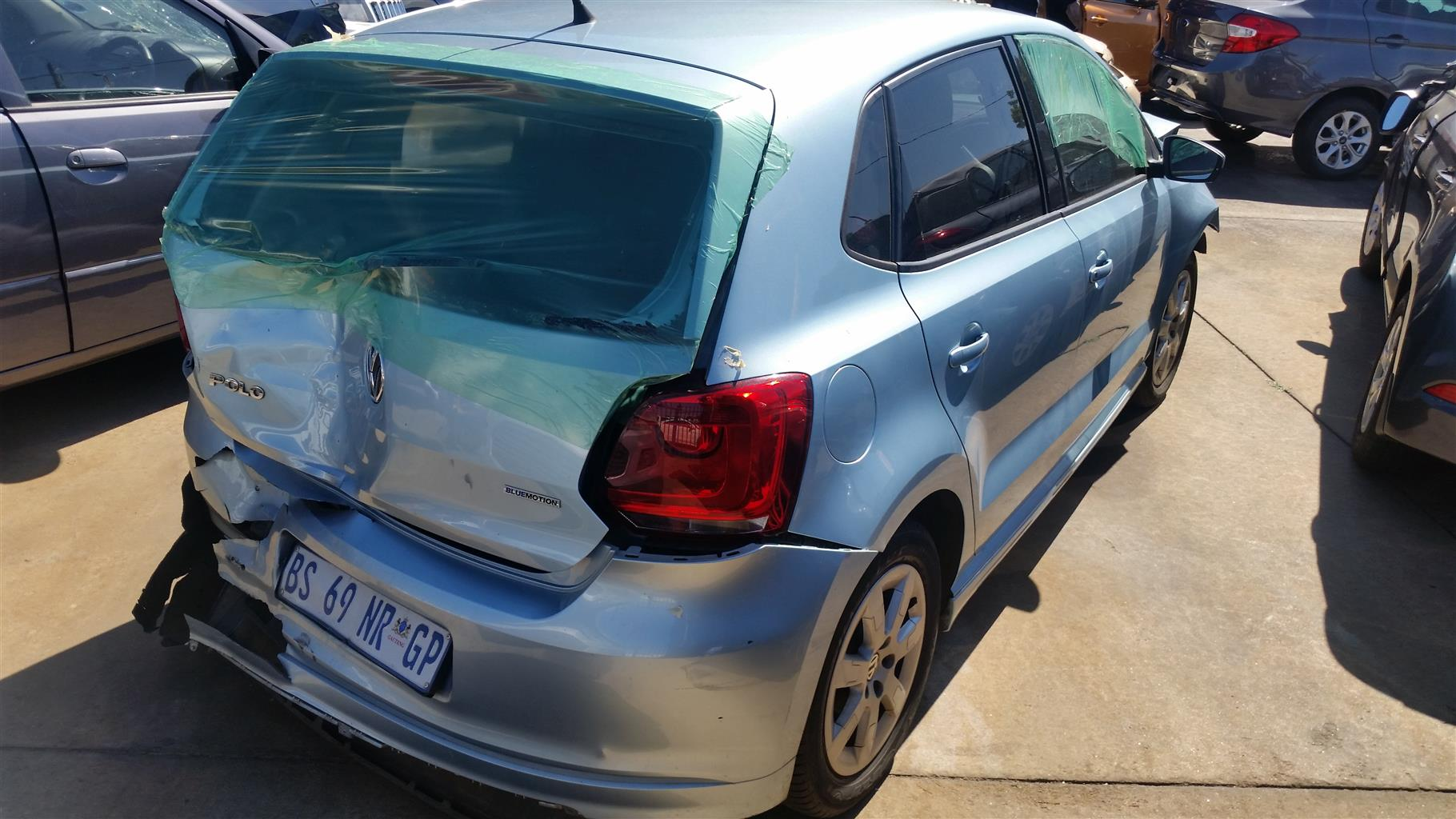 Salvage/Accident Damaged VW Polo VI 2012 1.2 TDI Blue Motion (REF  IW25974)