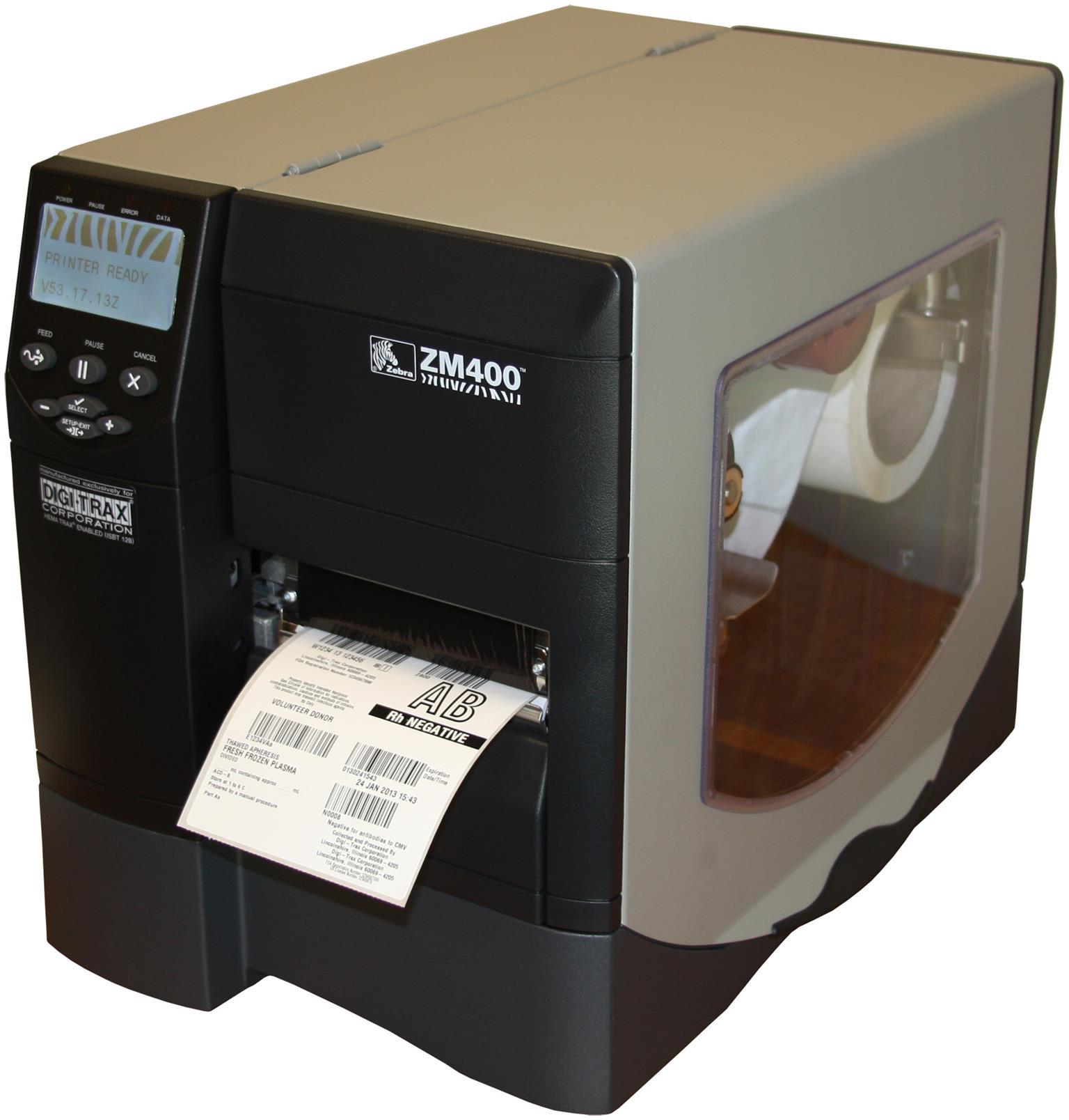 Zebra Z400 Industrial Label Printer