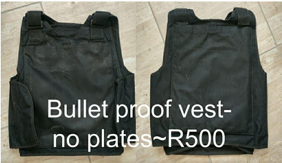 Bulletproof vest no plate