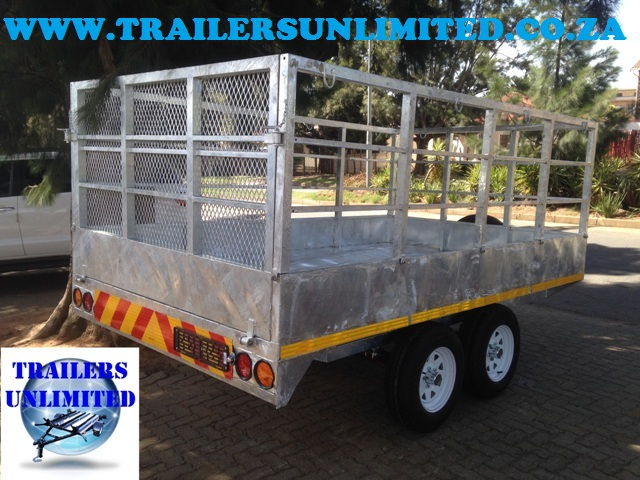 Galvanized Box Body Trailer
