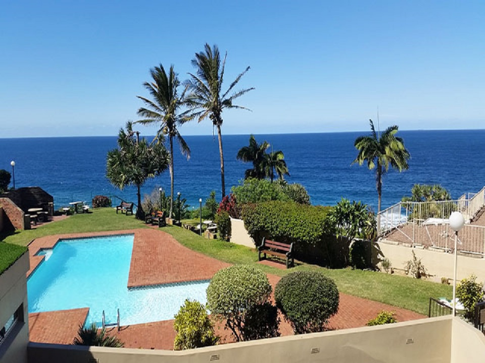 Amazing sea views from all the windows in this 3 bedroom apartment  Ballito