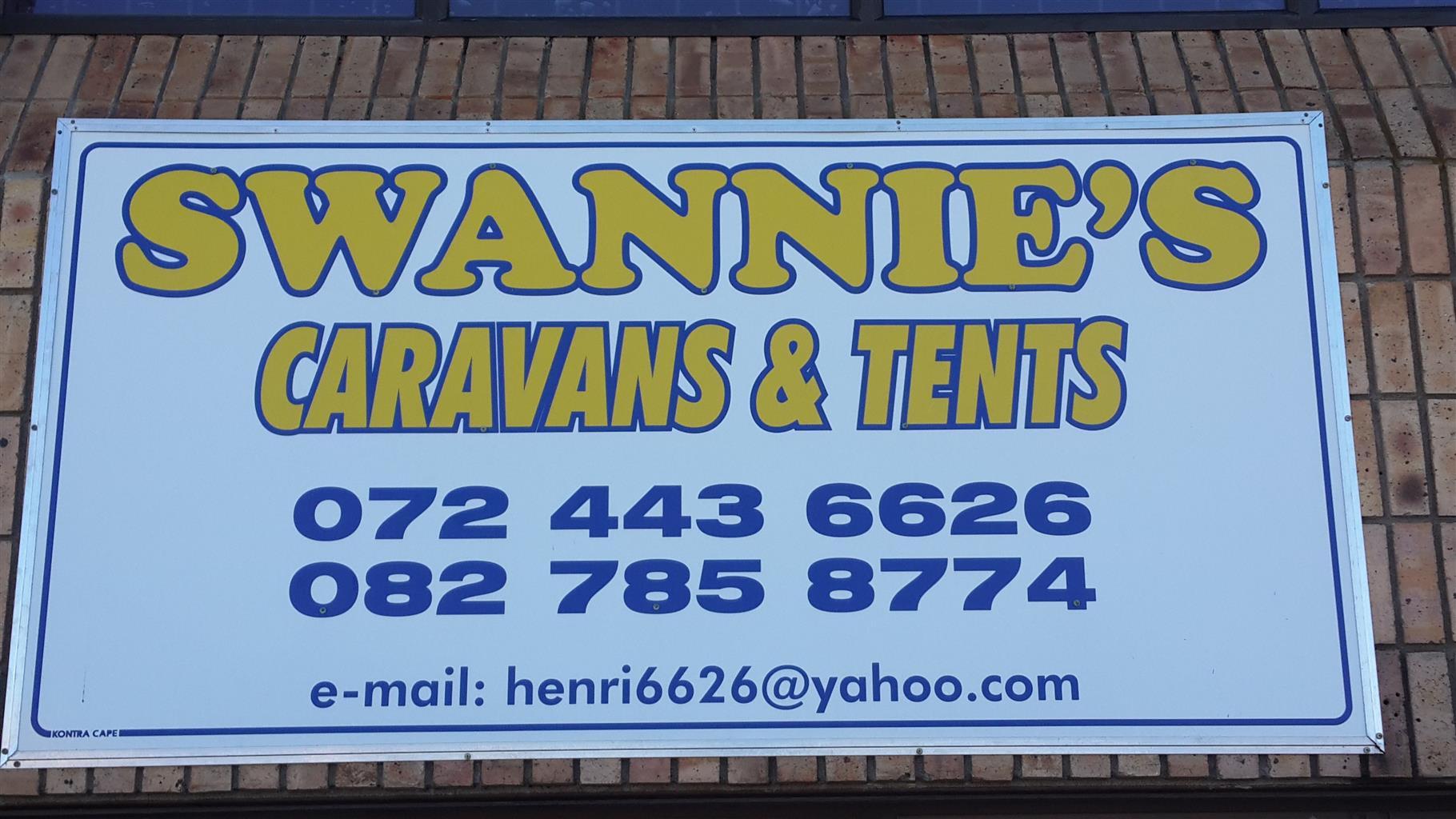 Swannies Karavane & Tente