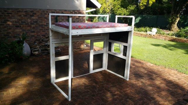 Doll-house bed