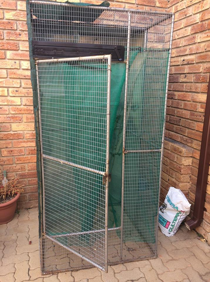 Small aviary for sale.
