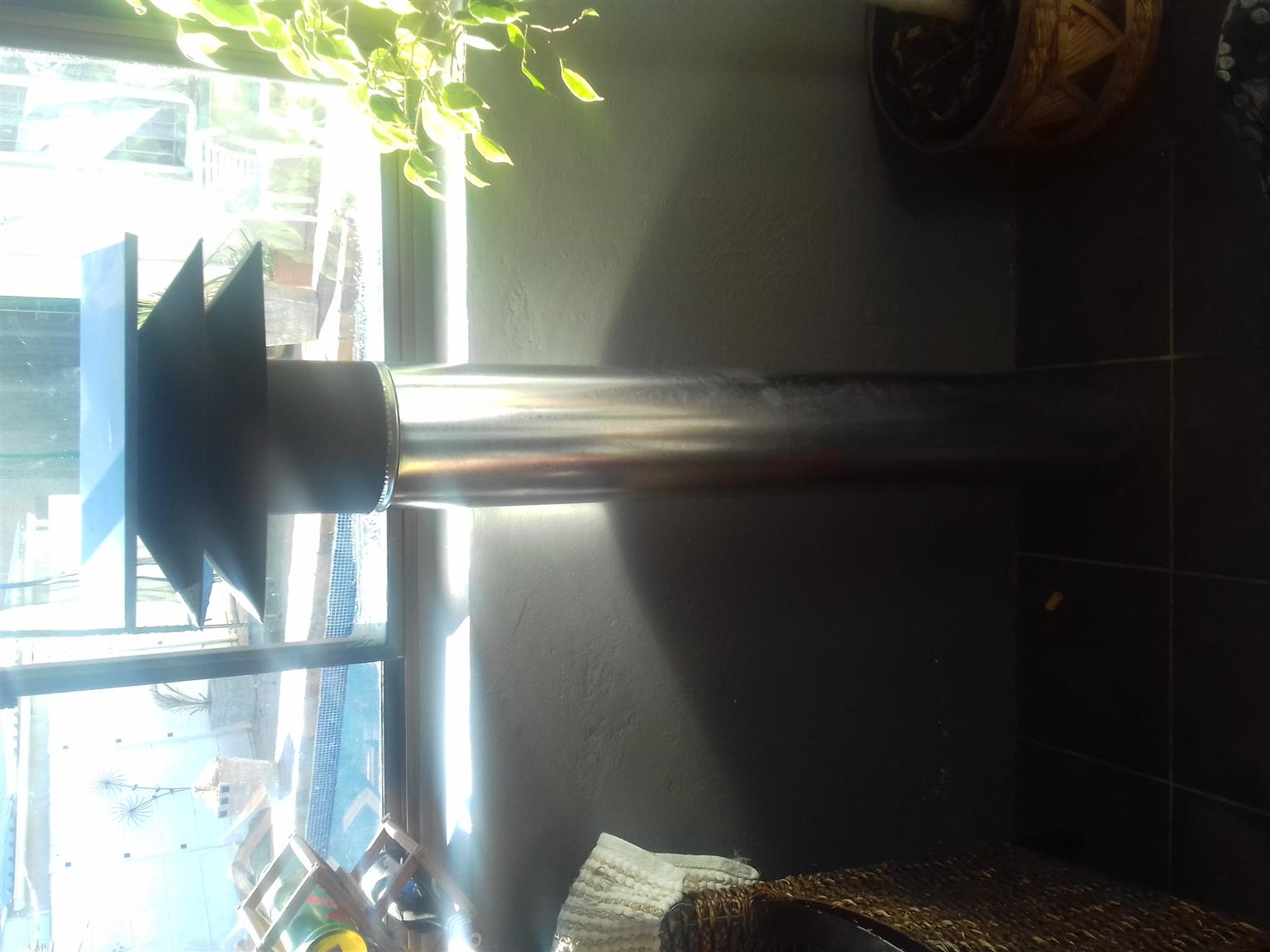 Fireplace flue 1.2 and top