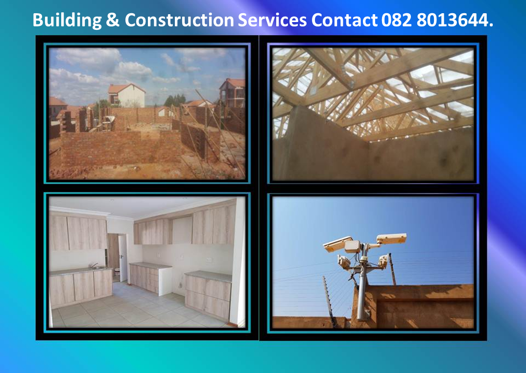 We do all kinds of building construction services.