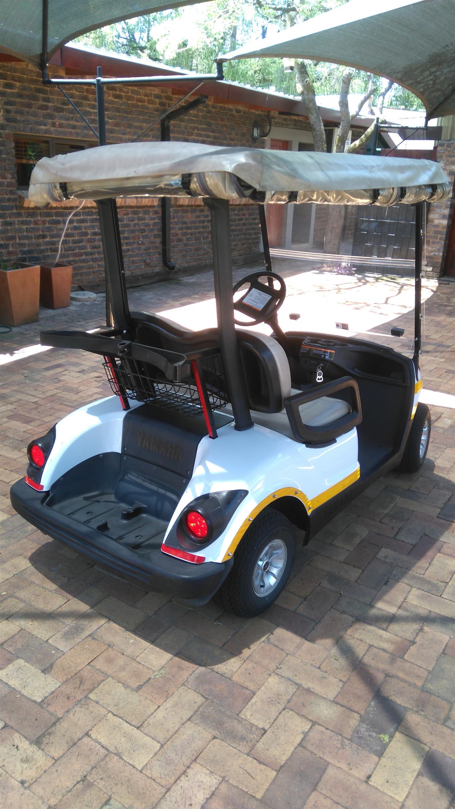 Yamaha petrol driven golf cart for sale
