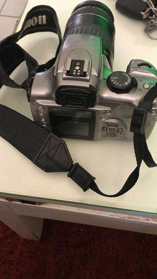 Canon 300d with lens