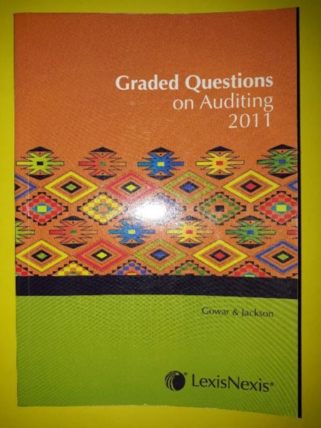 Graded Questions On Auditing 2011 - Gowar & Jackson.