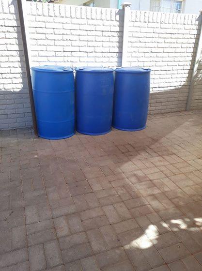 210 liter plastiekdromme