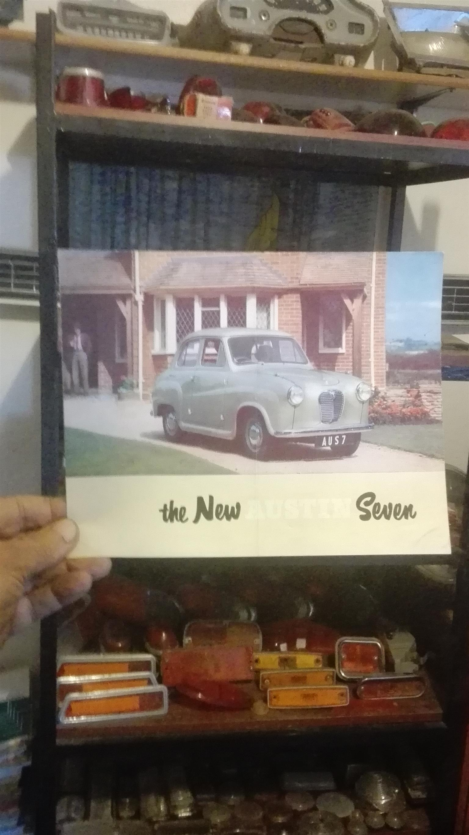 Austin Seven: original showroom brosjure