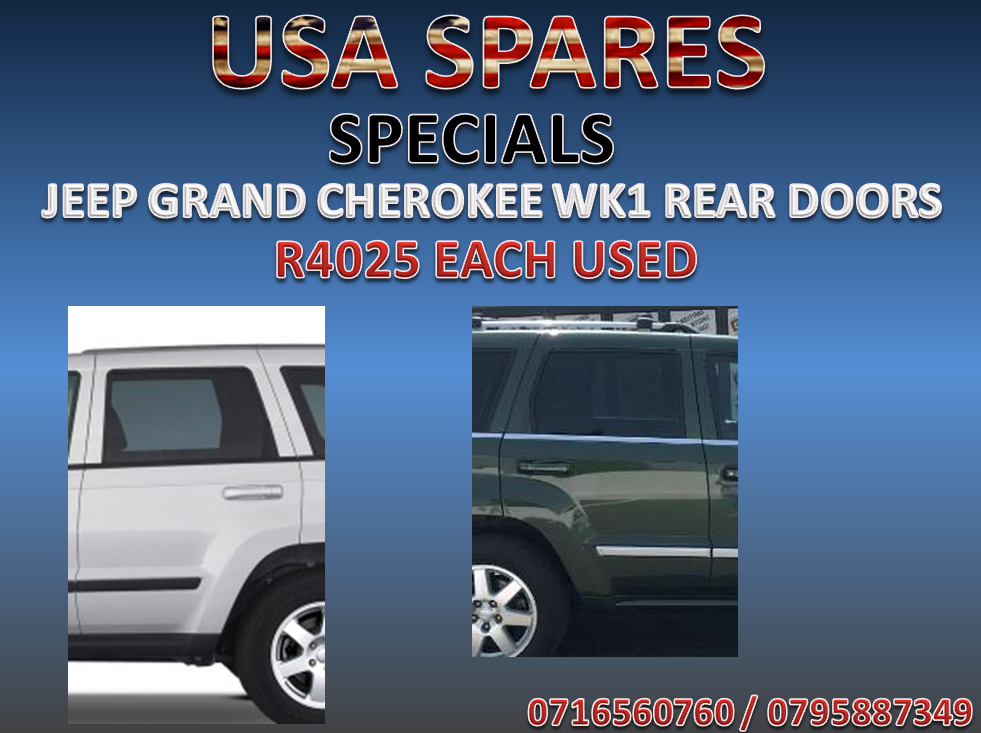JEEP GRAND CHEROKEE WK1 REAR DOORS SPECIAL