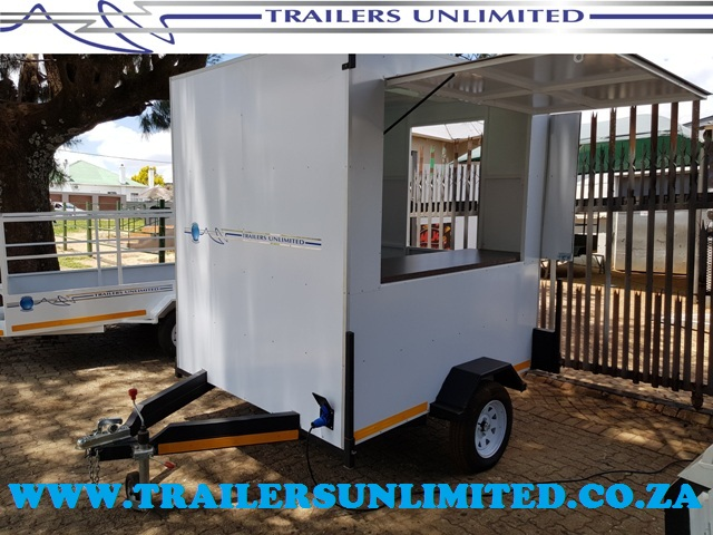 TRAILERS UNLIMITED. MOBILE OFFICE.