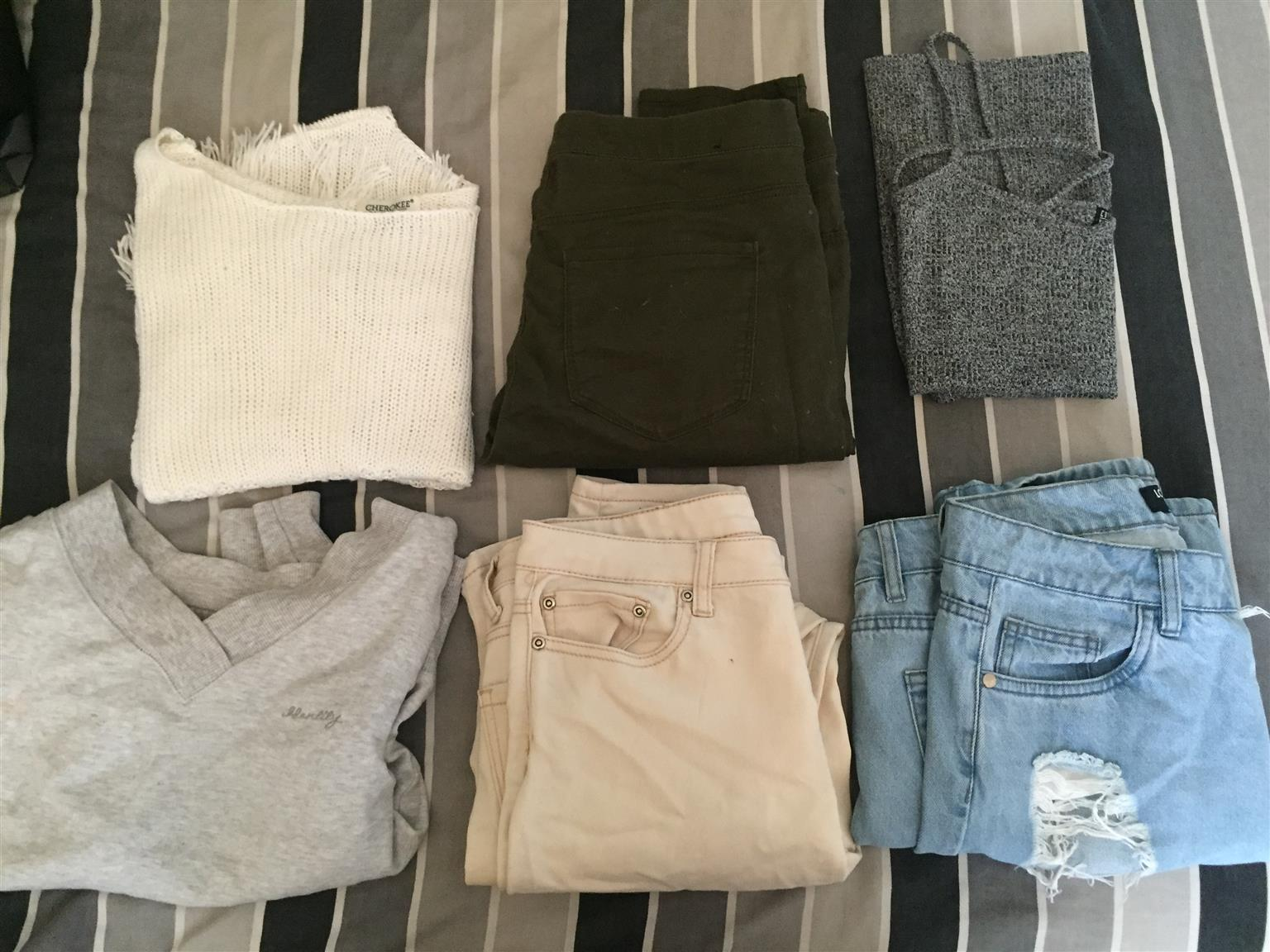 Mix and Match good condition clothing or buy it in groups