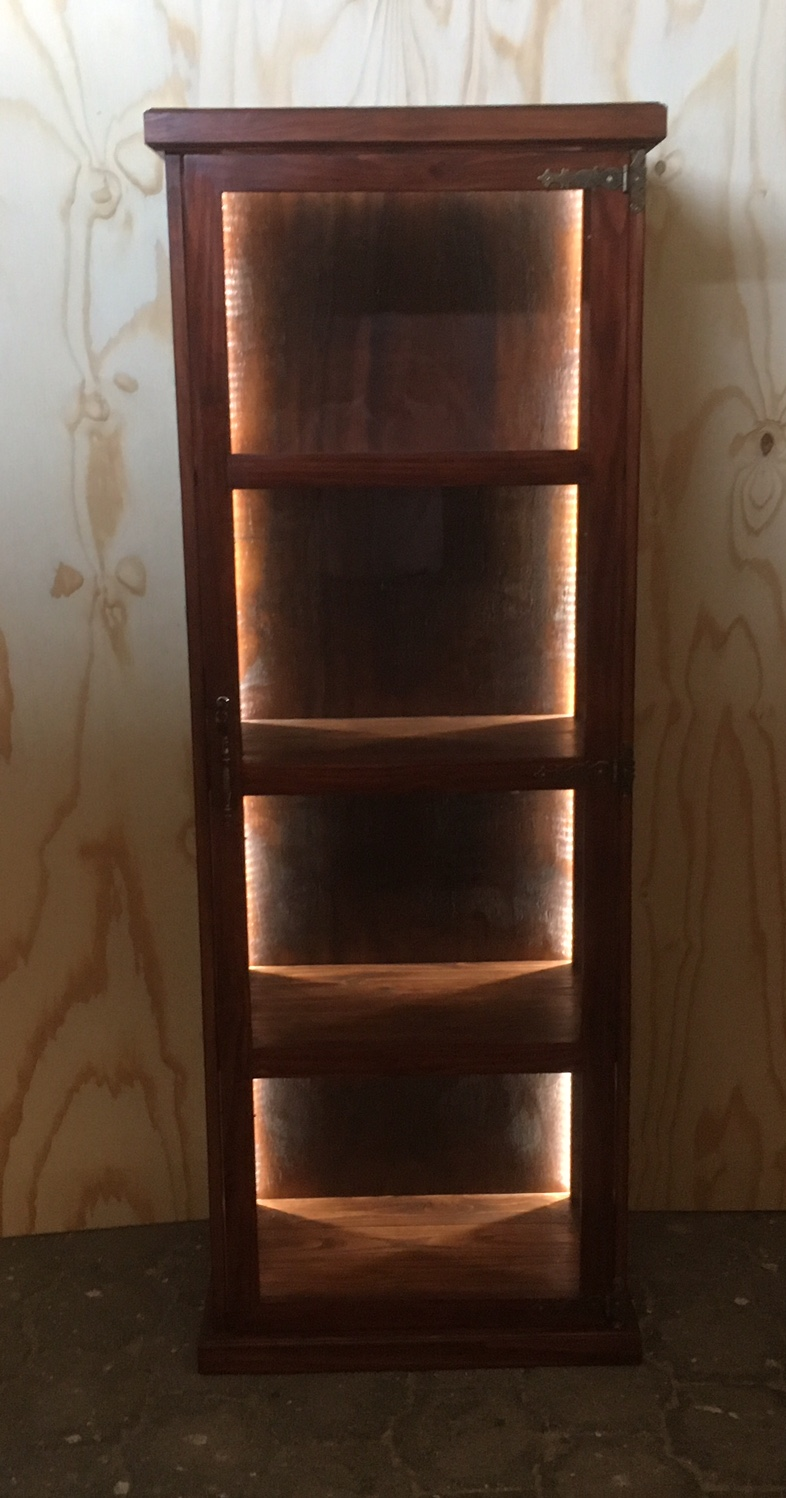 Liquor cabinet Farmhouse series 1900 Stained
