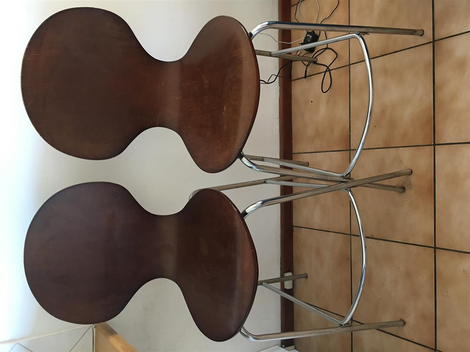 2 wooden bar stools R300 for both