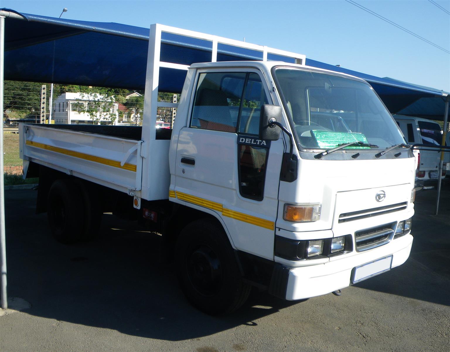2.5ton Daihatsu Delta used dropside truck - AA2385