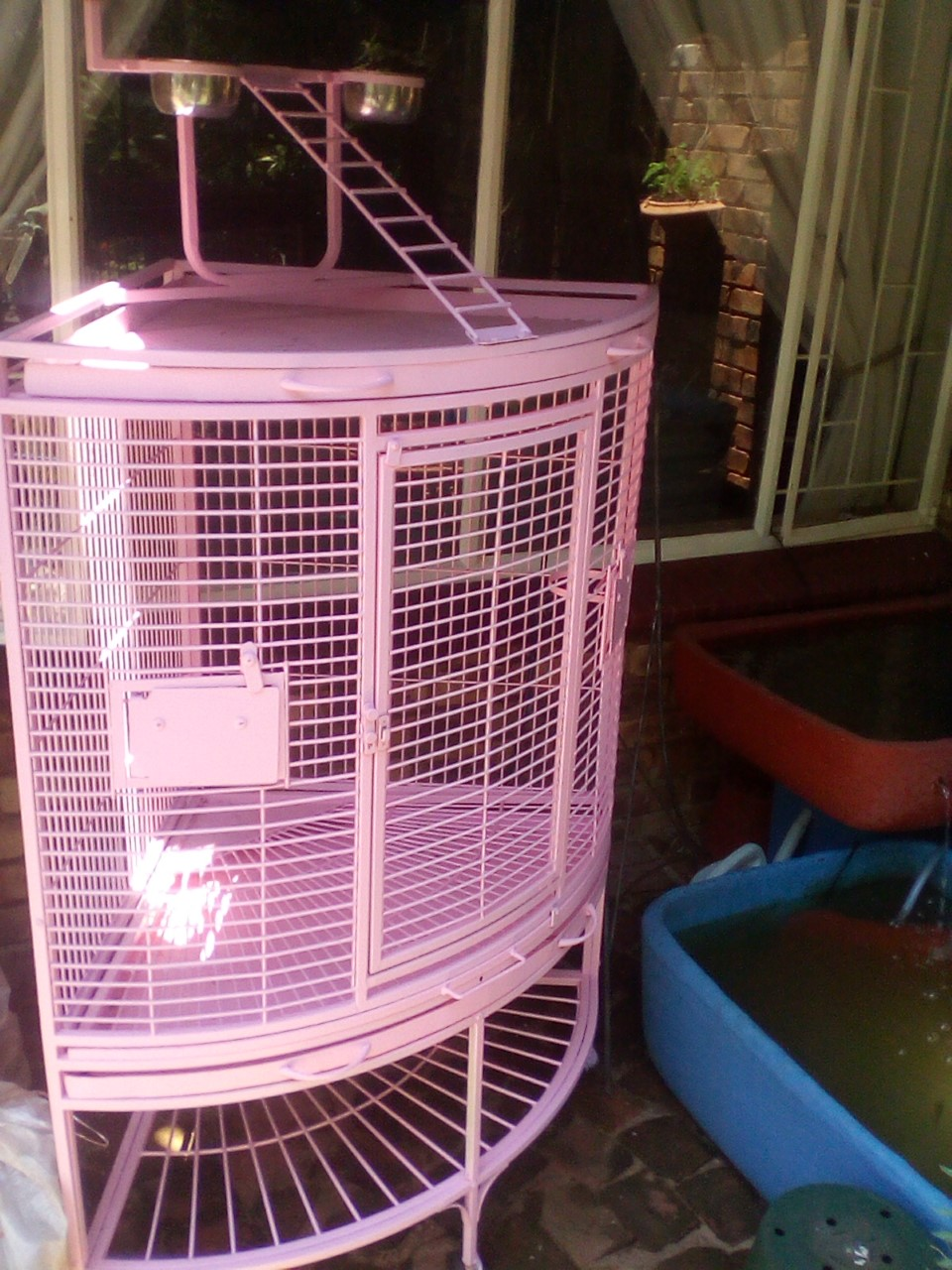 Parrot corner cage for sale
