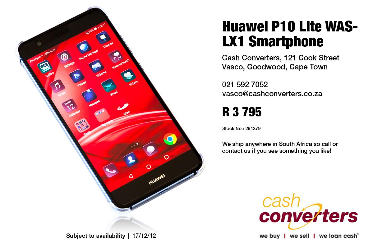 Huawei P10 Lite WAS-LX1 Smartphone