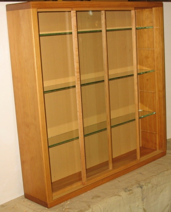 Glass Display Cabinets - Beautiful Custom made, Different types and Sizes, Dust Proof !