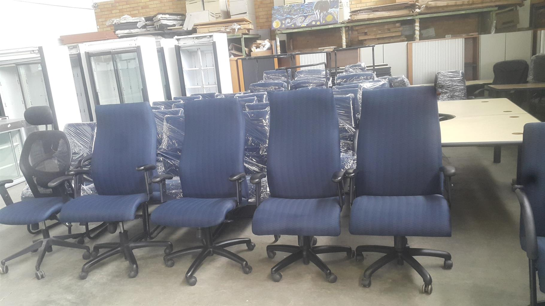 High Back Office Chairs in good shape
