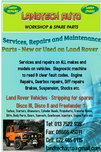 Services, Repairs, Maintenance on all vehicles. Land Rover Parts - New or Used