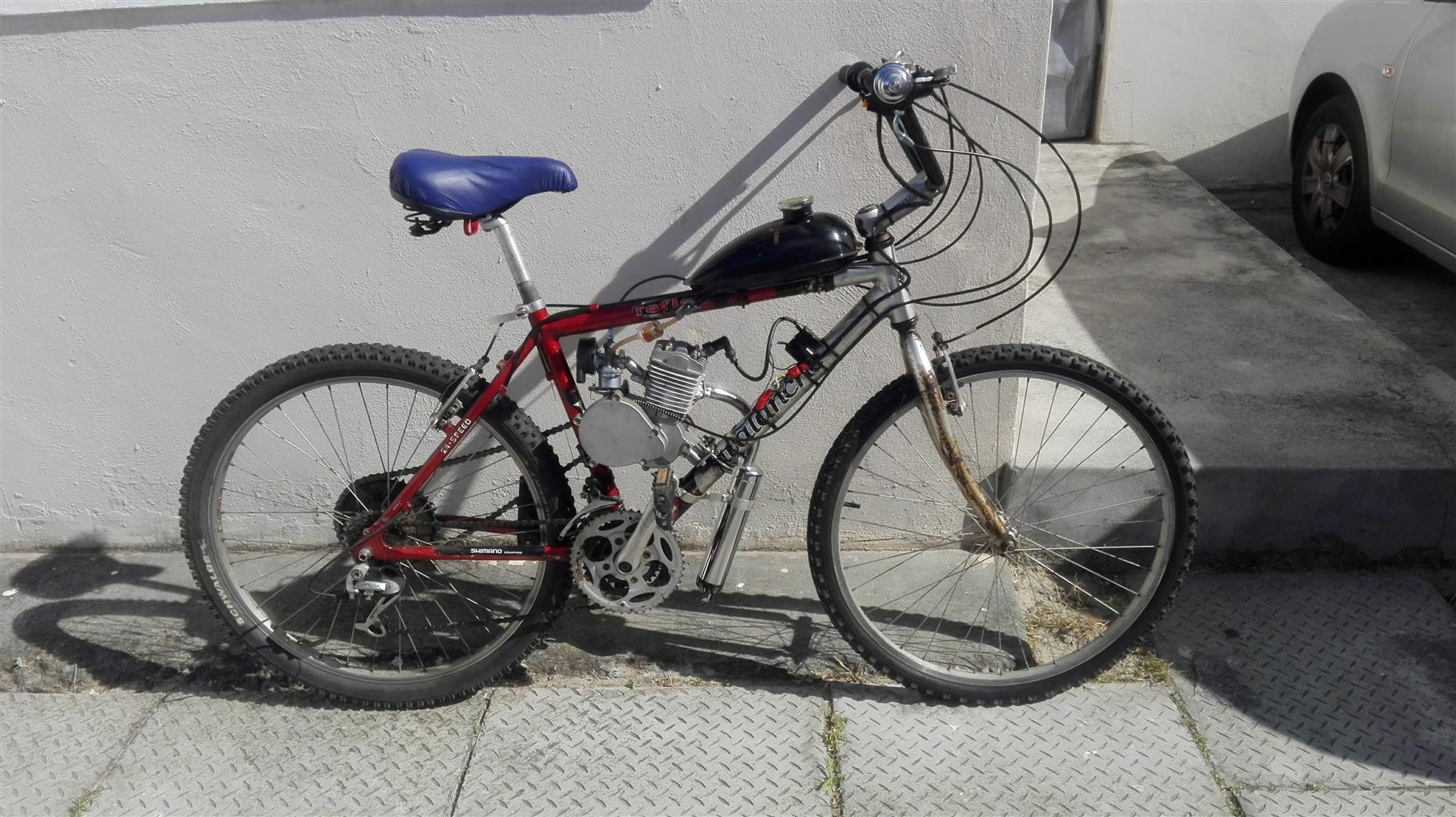 Avalanche Mountain Bike with engine