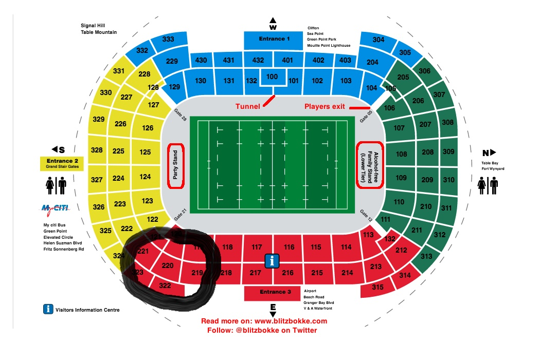 HSBC 7's Tickets Saturday R500ea