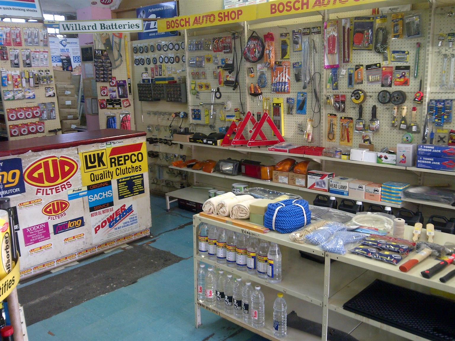 Motor spares accessories amd tools