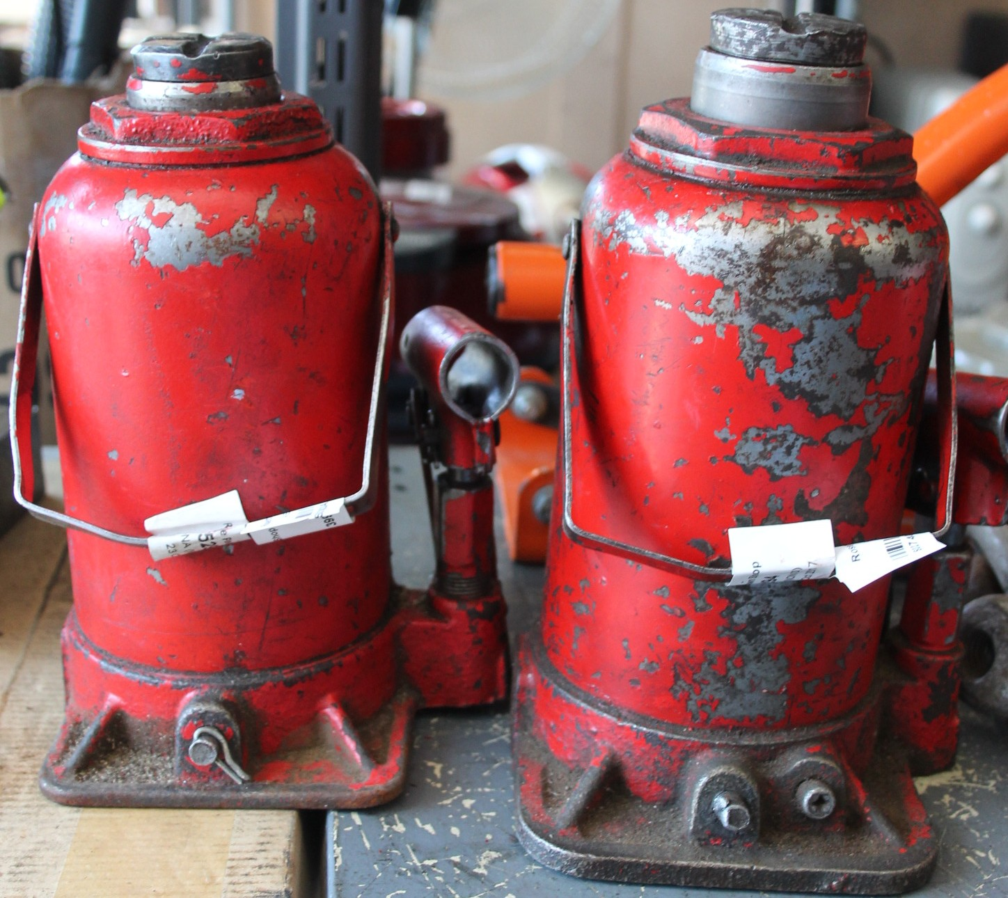 2x Bottle jacks S027403a #Rosettenvillepawnshop