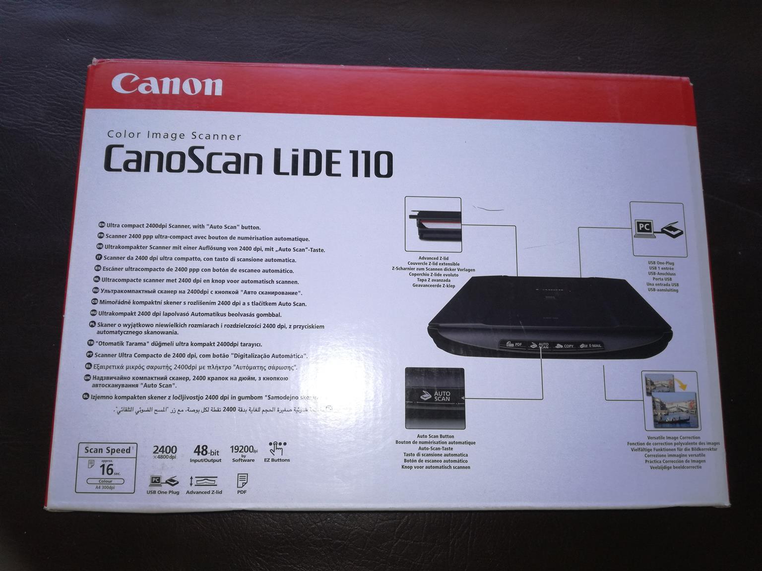 LG GP60 Ultra Slim External DVD Writer (QTY 11) + Logitech C270 Webcam (QTY  4) +Canoscan Lide 110 Scanner (QTY 4)