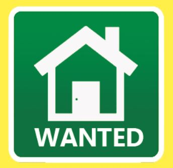 Apartment, Townhouse, Duplex wanted for rent