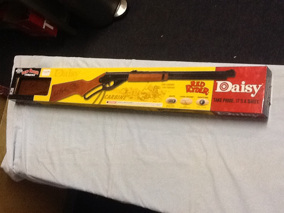 Daisy Red Ryder Carbine. / Rifle bb.