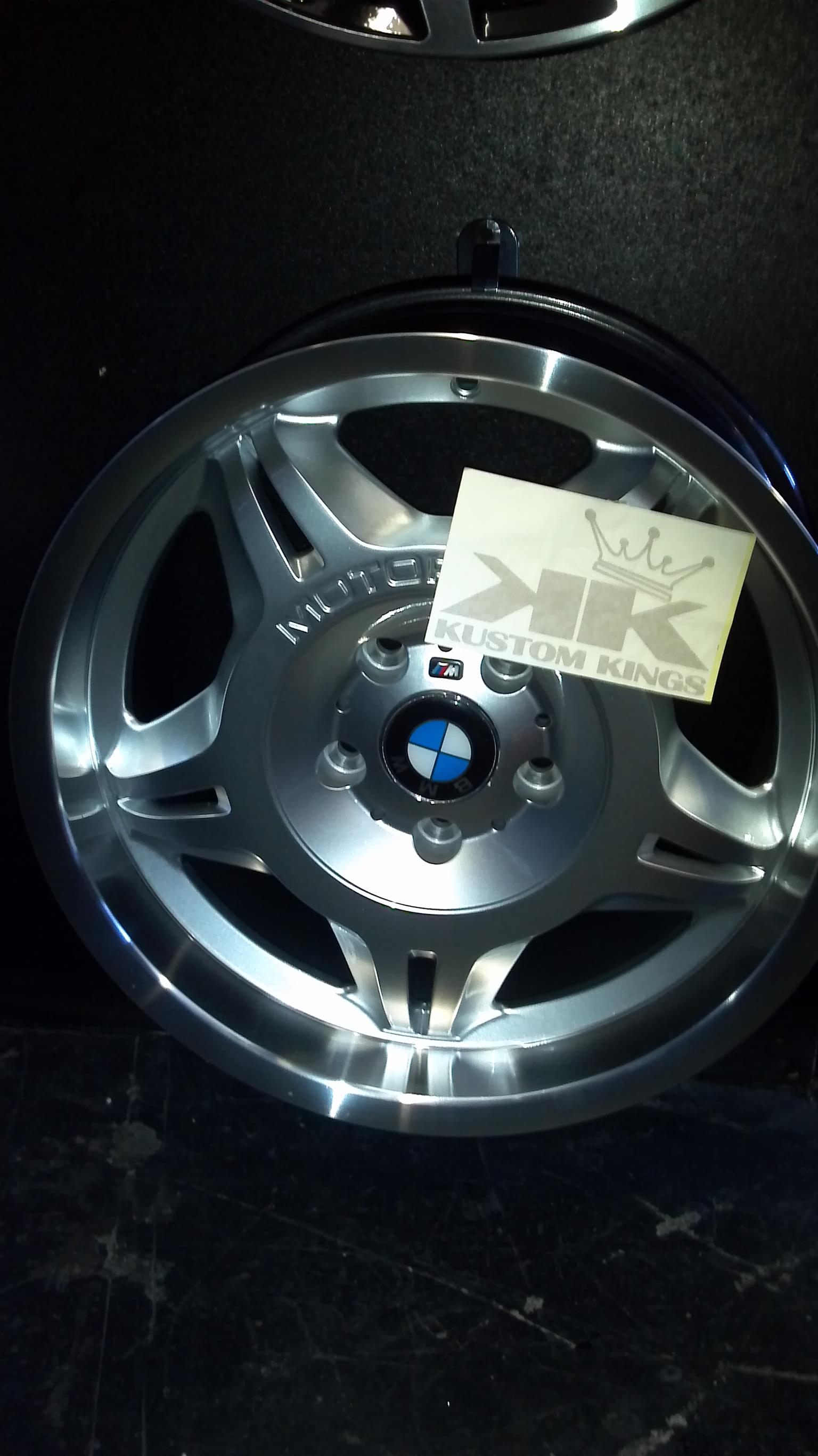 Bmw E36 M3 Motorsport wheels for sale brand new only R8500 | Junk Mail