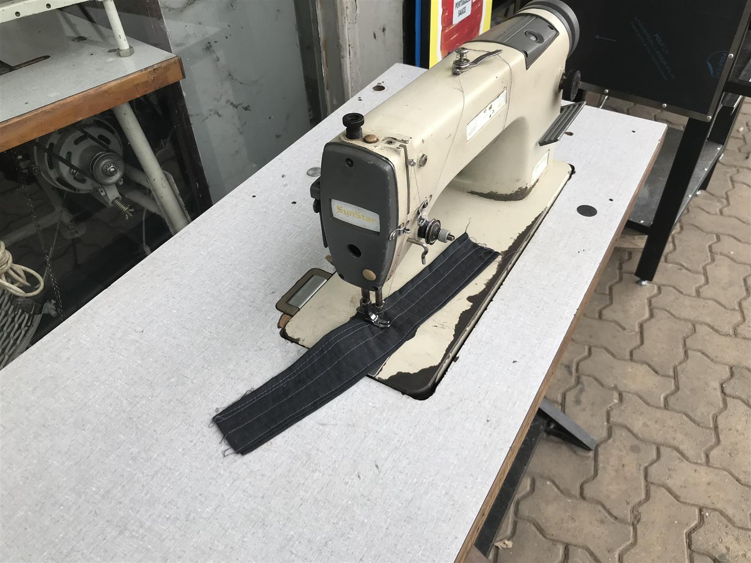 Sunstar industrial sewing machine R3500