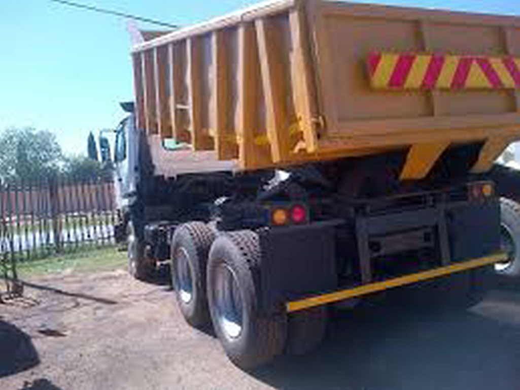 FAW 28/280 , 2007, 10 meter tipper truck for sale with current work