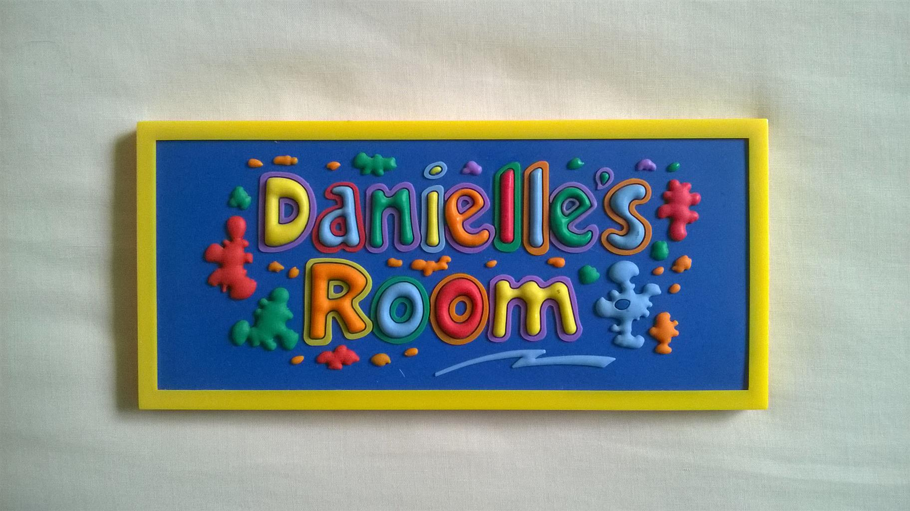 Danielle nameplate