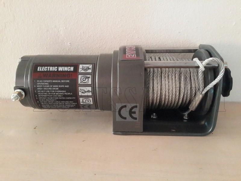 RUNVA X12000F 12V ELECTRIC CABLE WINCH