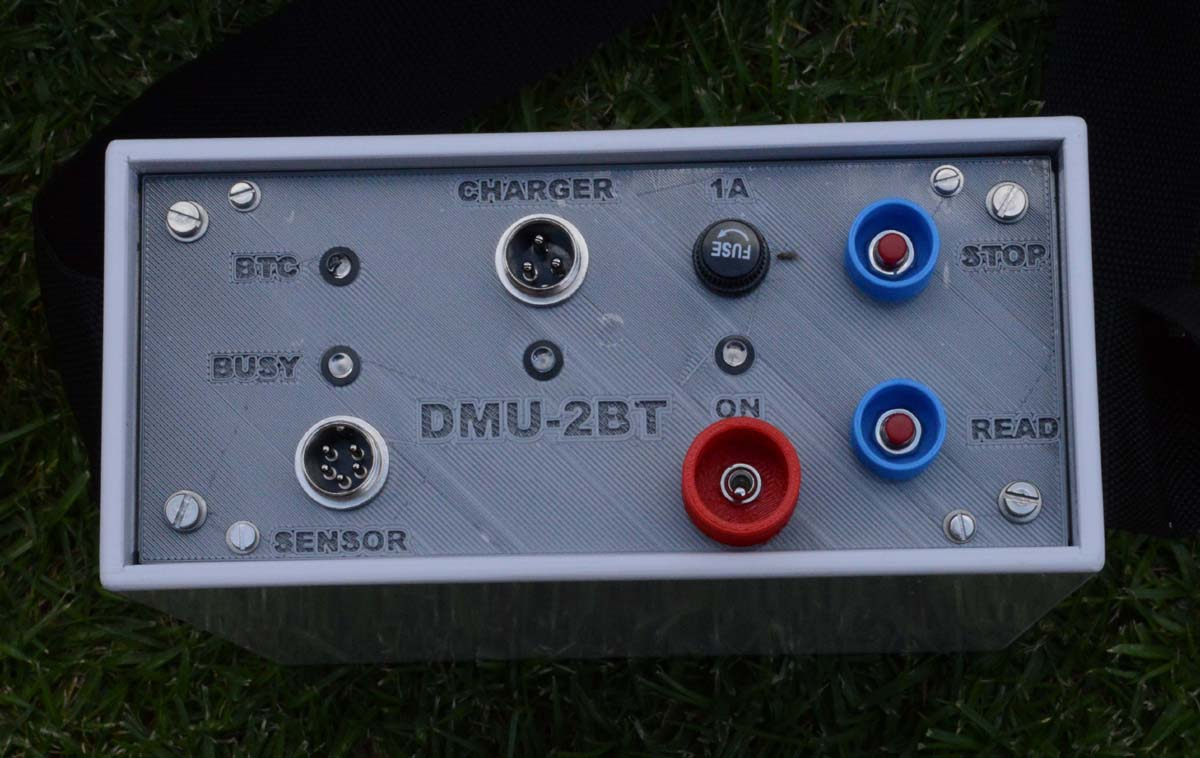 Magnetometer DMU-2BT for siting boreholes